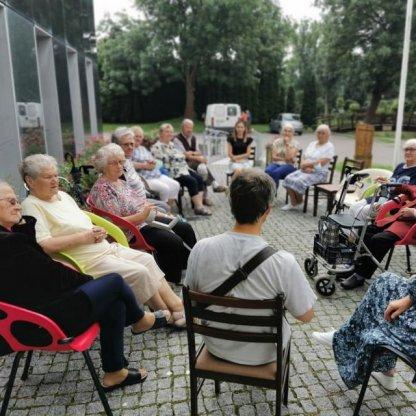 Spotkanie w Dziennym Domu Seniora +