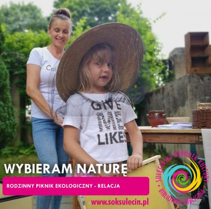 Rodzinny Piknik Ekologiczny WYBIERAM NATURĘ 2021
