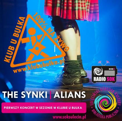 THE SYNKI   ALIANS - pierwszy koncert w sezonie w Klubie u Bulka