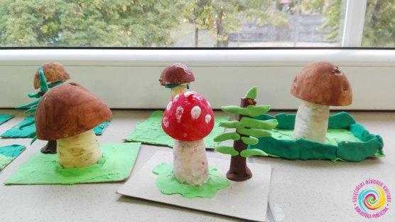 Warsztaty manualno-kreatywne - jesienne grzybki