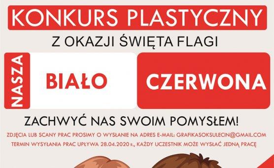 Nasza biało-czerwona - konkurs plastyczny dla dzieci i młodzieży
