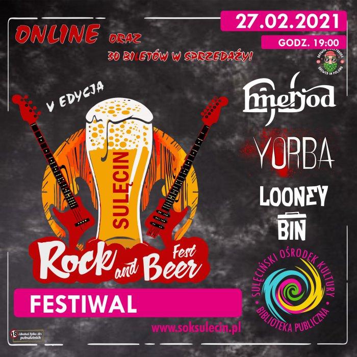 Już 27. lutego - Rock & Beer 2021