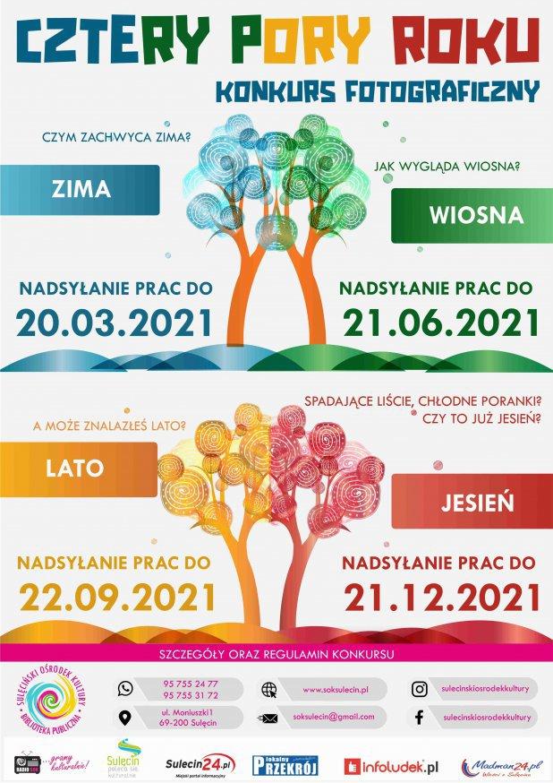 """Konkurs fotograficzny """"Cztery Pory Roku - wiosna"""""""