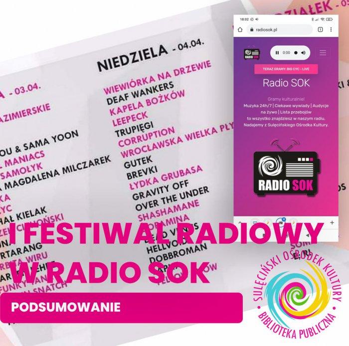 I Festiwal radiowy - podsumowanie