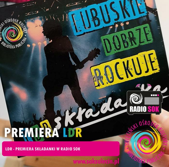 LUBUSKIE DOBRZE ROCKUJE składanka - relacja z premiery w Radiu SOK