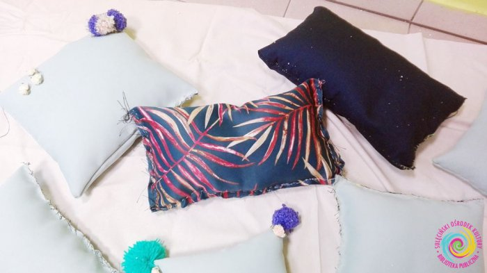 Warsztaty manualno-kreatywne - poduszki