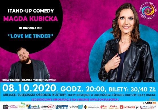 Wieczór Stand-Up - Magda Kubicka
