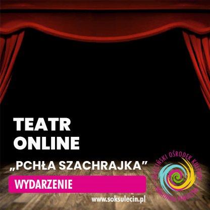 Pchła Szachrajka - spektakl teatralny online.