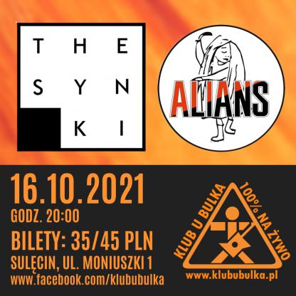 The Synki & Alians - koncertowa jesień w Klubie U Bulka