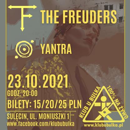 The Freuders + Yantra - koncertowa jesień w Klubie U Bulka