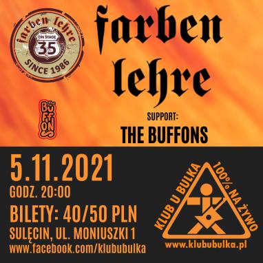 35-lecie FARBEN LEHRE + the BUFFONS