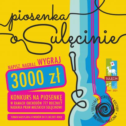 Piosenka o Sulęcinie - konkurs